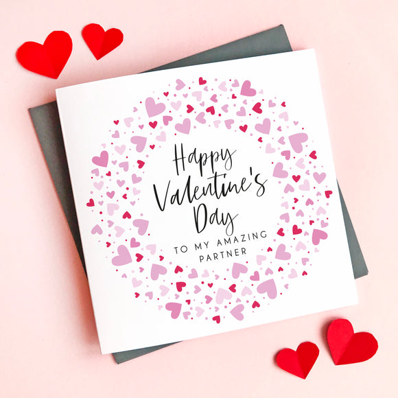 Partner Valentine's Card
