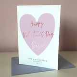 Sarah Catherine Foiled Valentine's Day Card
