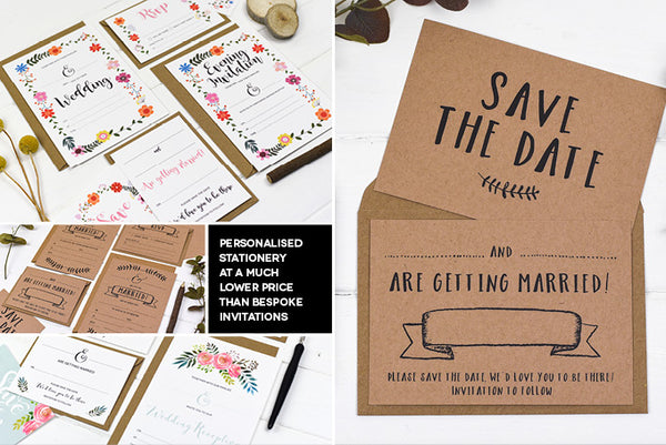 DIY Wedding Stationery Cheap Wedding Stationery