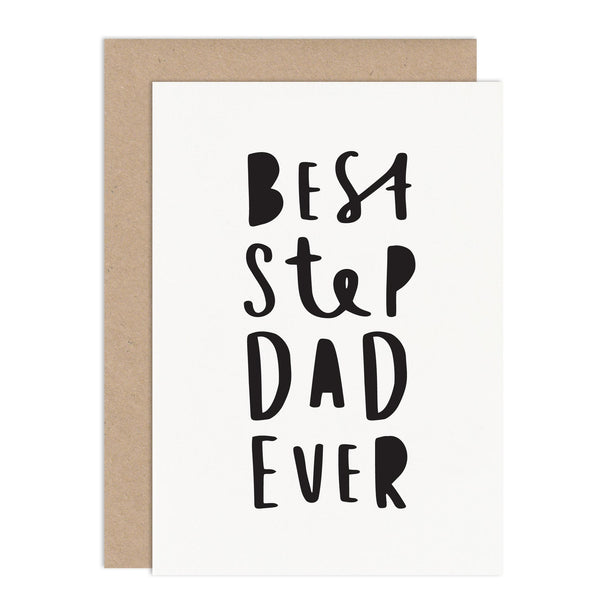 Best Step Dad Ever Card