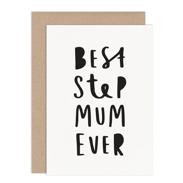 Best Step Mum Ever Card