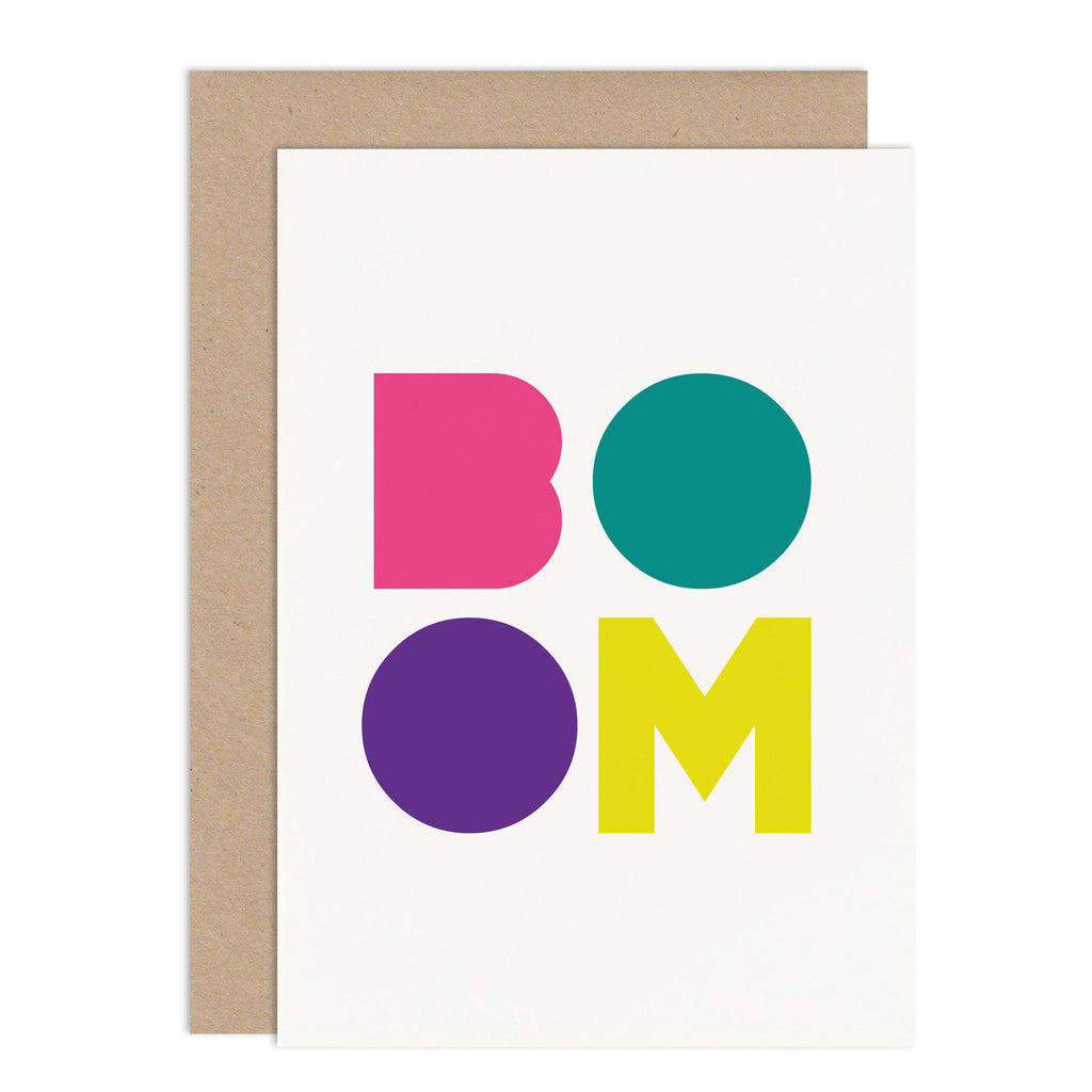 Boom Congratulations Card