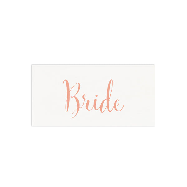 Calligraphy Script Personalised Wedding Place Cards