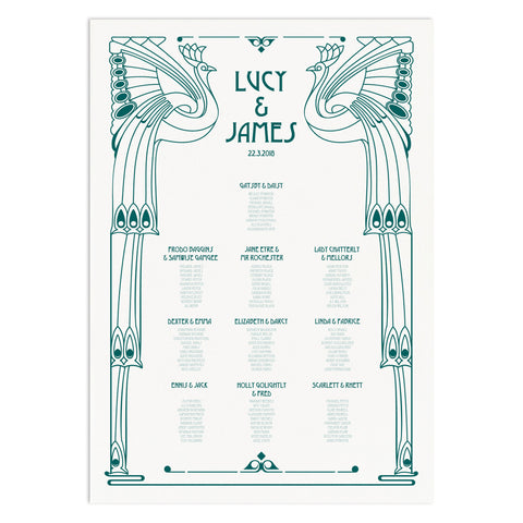 Deco Table Plan