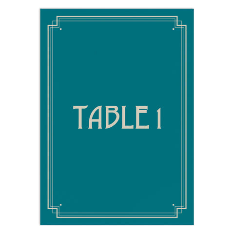 Deco Table Numbers
