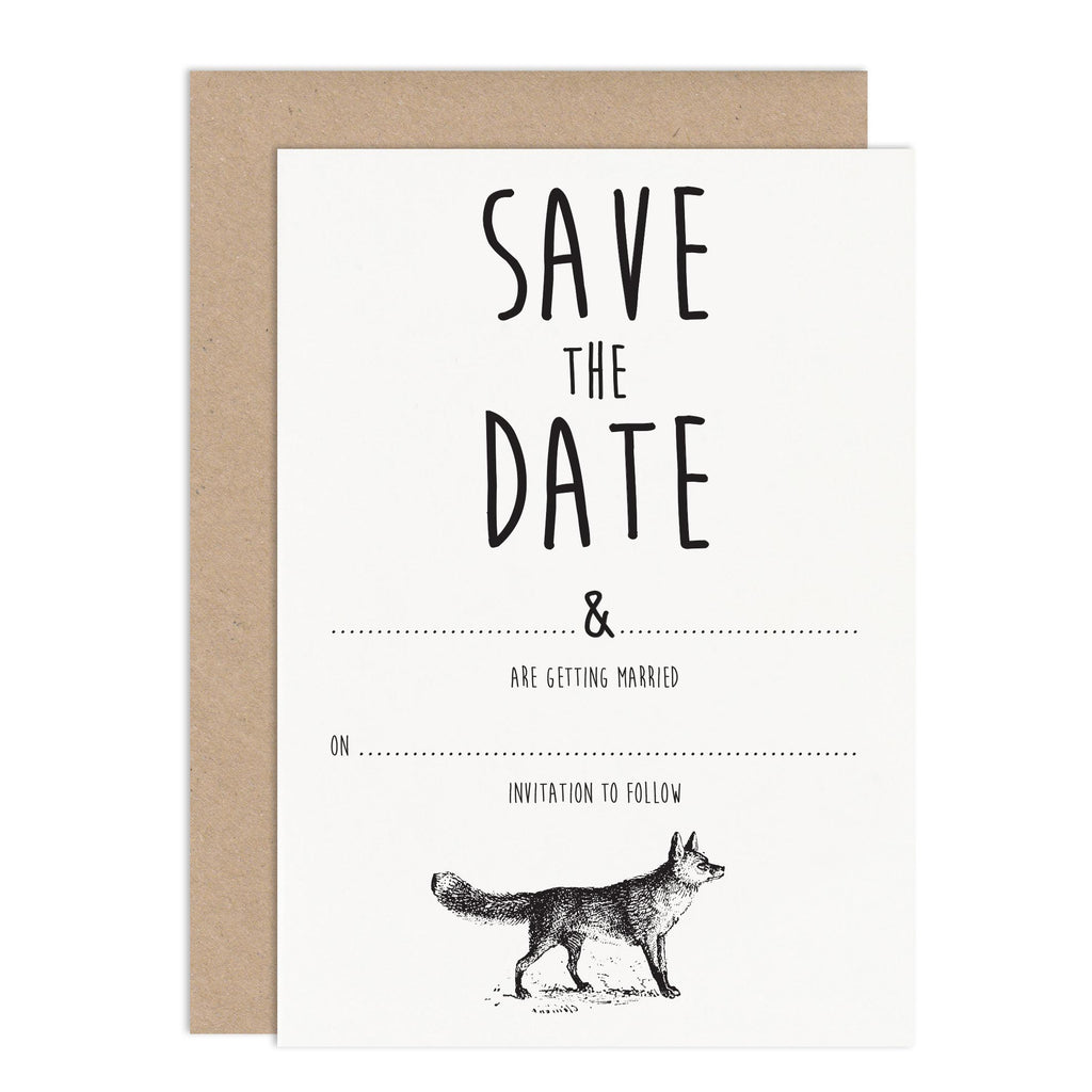 Rustic Enchanted Forest DIY Wedding Stationery