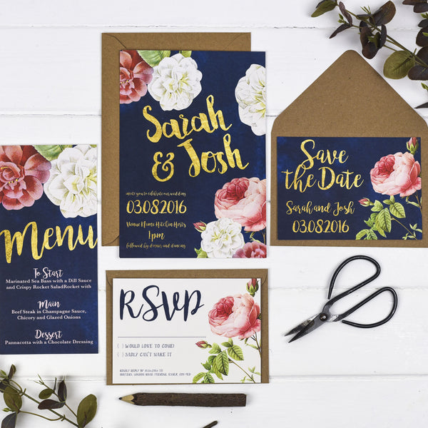 English Garden Sample Pack - Russet and Gray