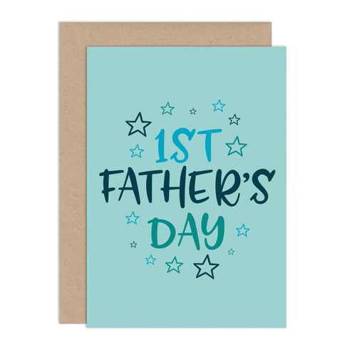 1st Father's Day Card