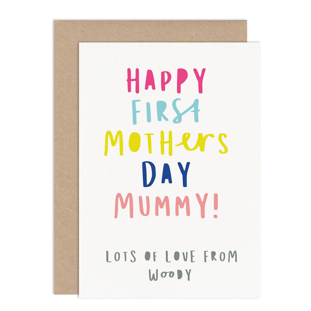 First Mothers Day Card