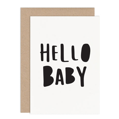 Hello Baby Card