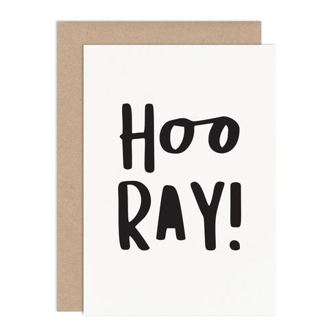 Hooray Congratulations Card