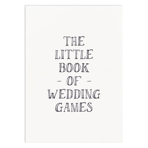 Little Book Of Wedding Games