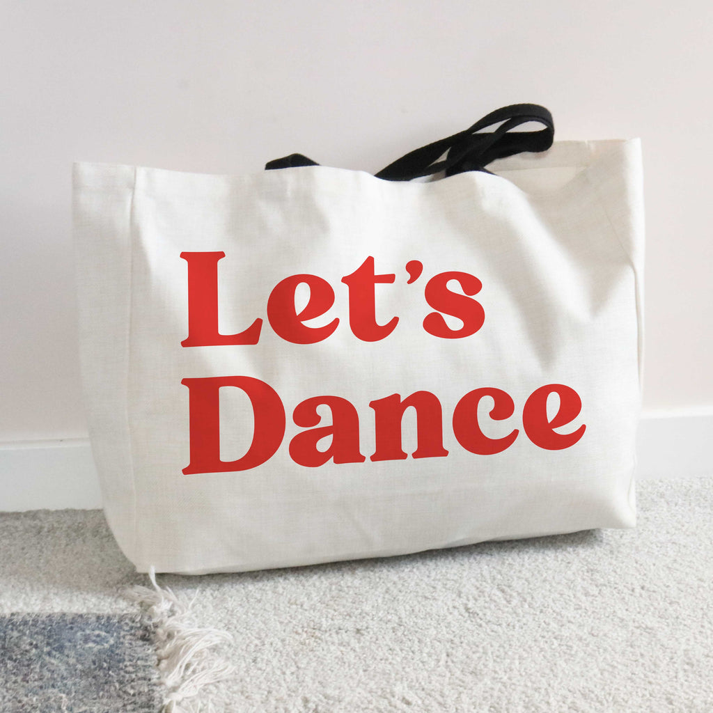 Let's Dance Large Tote Bag