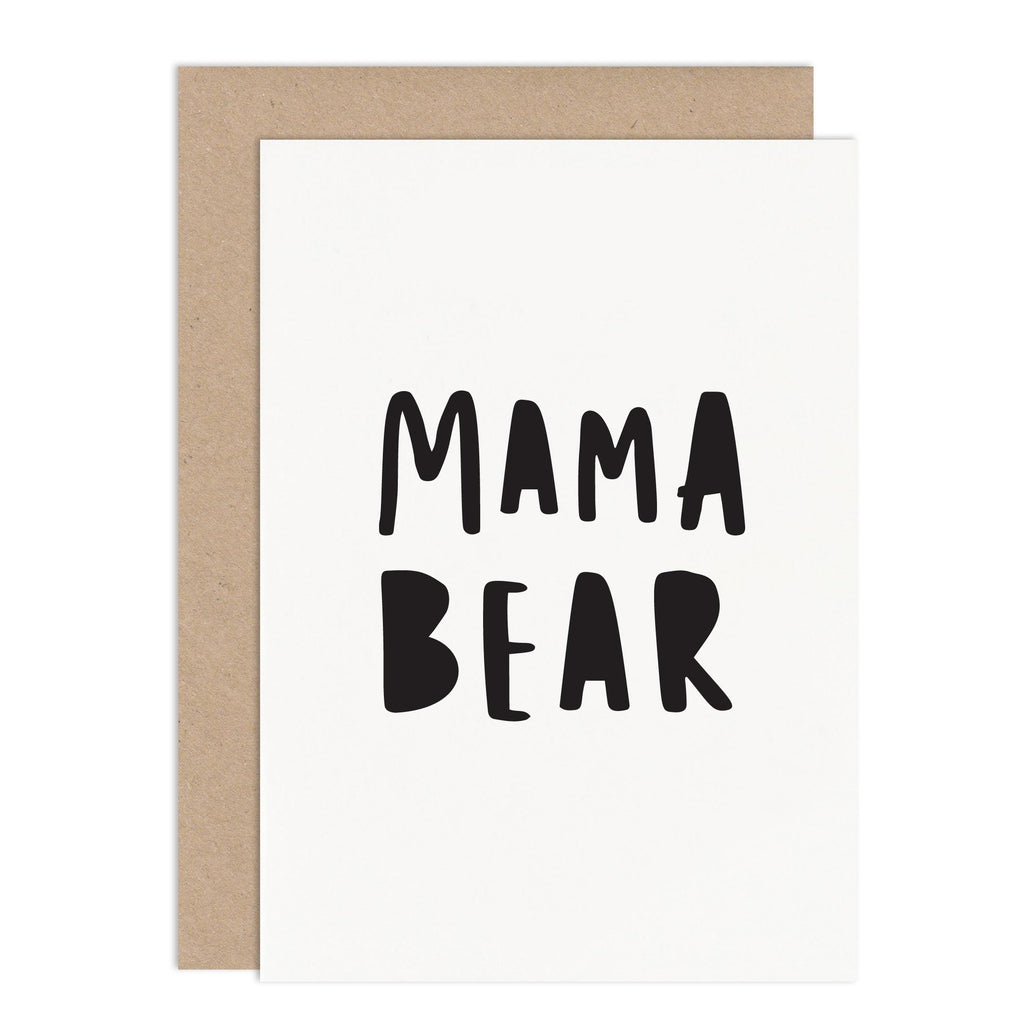 Mama Bear Mothers Day Card