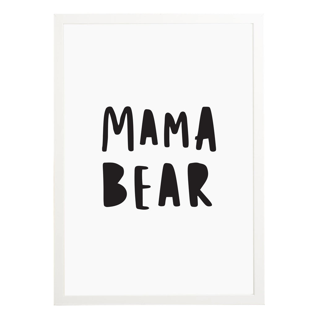 Mama Bear Print Mothers Day Gift