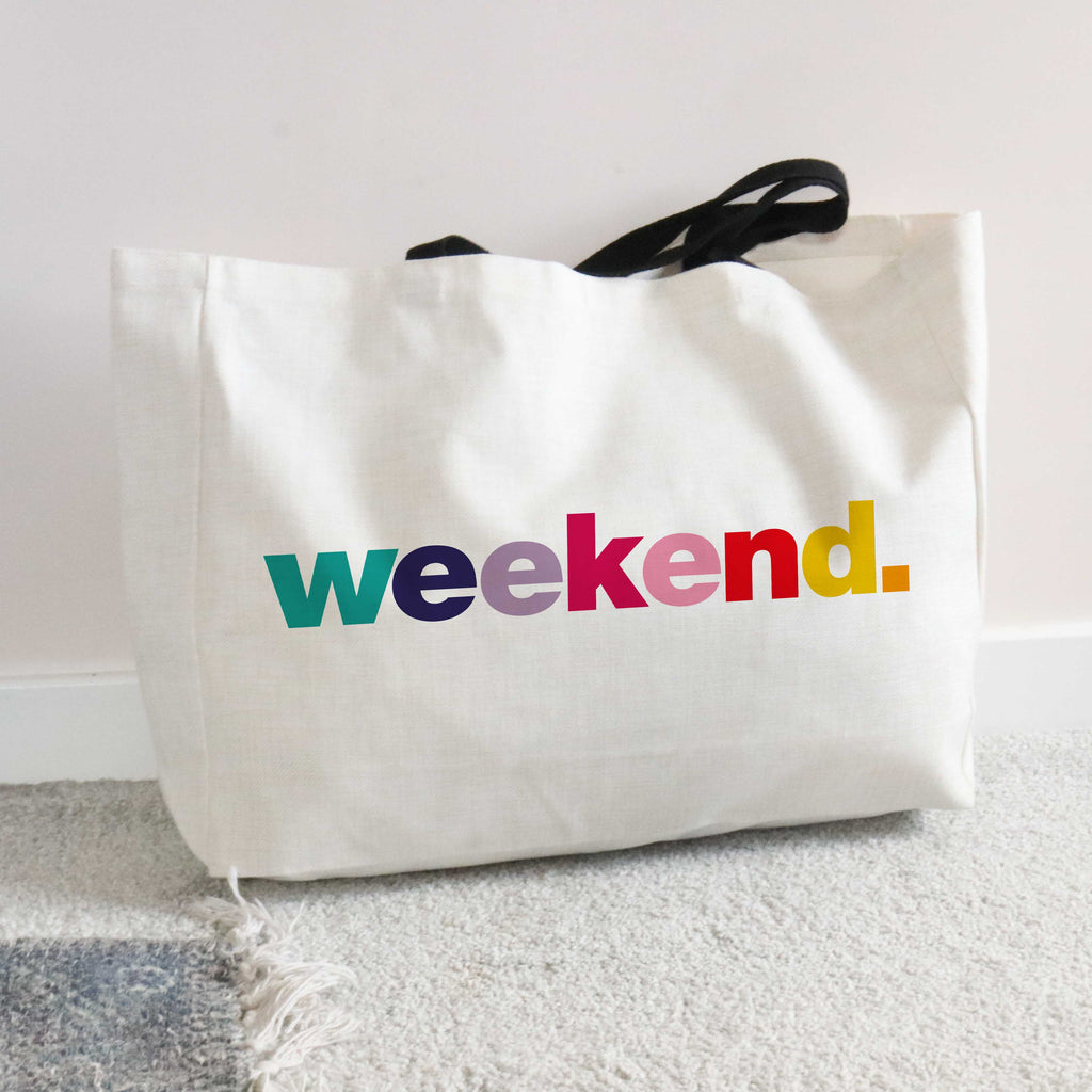Weekend Large Tote Bag