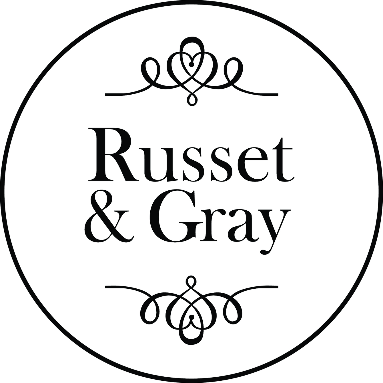Russet and Gray