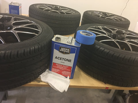 Cleaning Your Tire for Rubber Tire Lettering