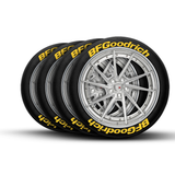 BFGoodrich Tire Lettering and Tire Stickers