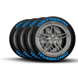 Continental Tire Lettering and Tire Stickers