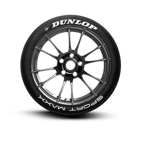 Dunlop Sport Maxx Tire Lettering Tire Stickers
