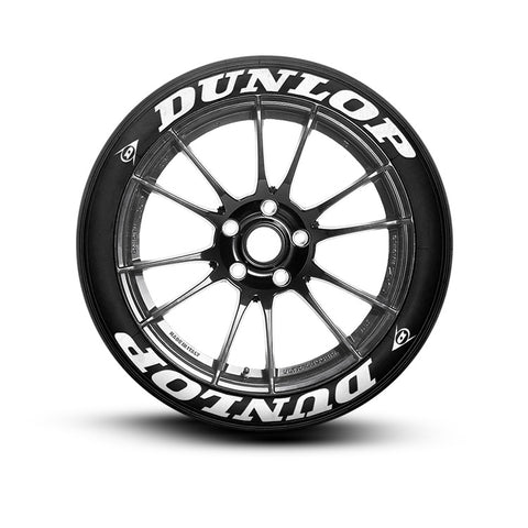 Dunlop Tire Stickers Tire Letters