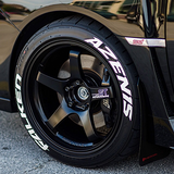Falken Azenis Tire Stickers Tire Lettering Tire Decals