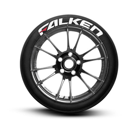 Falken Tire Stickers Tire Lettering Tire Decals with Red Dash