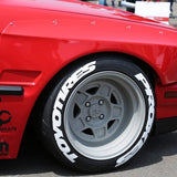 Fast and Furious Tire Lettering Tire Stickers