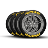 Federal Tire Lettering and Tire Stickers