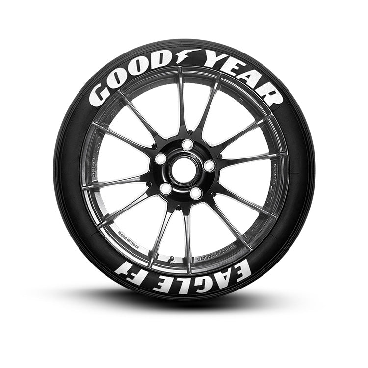 White Tire Paint >> Goodyear EAGLE F1 Tire Lettering Tire Stickers – TIREGRAFICX