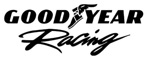 Goodyear Racing Window Decal