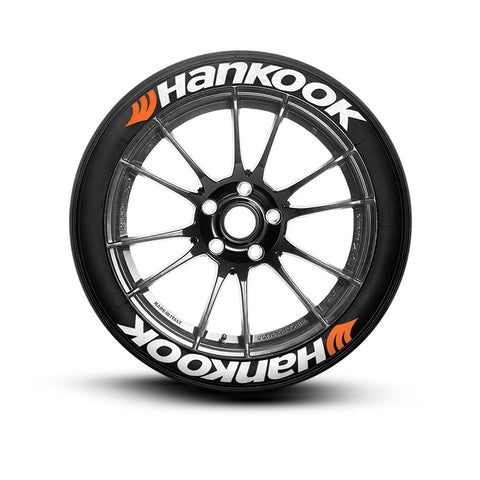 Hankook tire lettering tire stickers tire decal