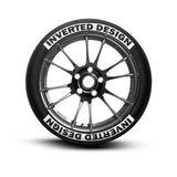 Inverted Design Tire Lettering