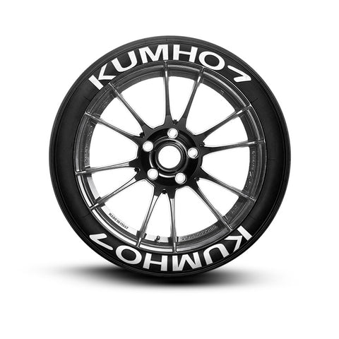 Kumho Tire Lettering and Tire Stickers