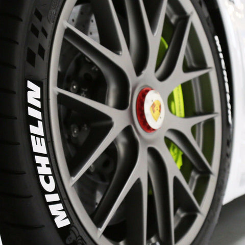 Michelin Tire Lettering (Set of 4)