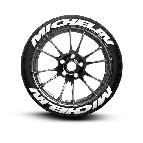 Michelin Super Stretch Tire Lettering and Tire Stickers