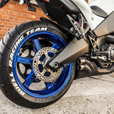 Motorcycle Tire Lettering Kit