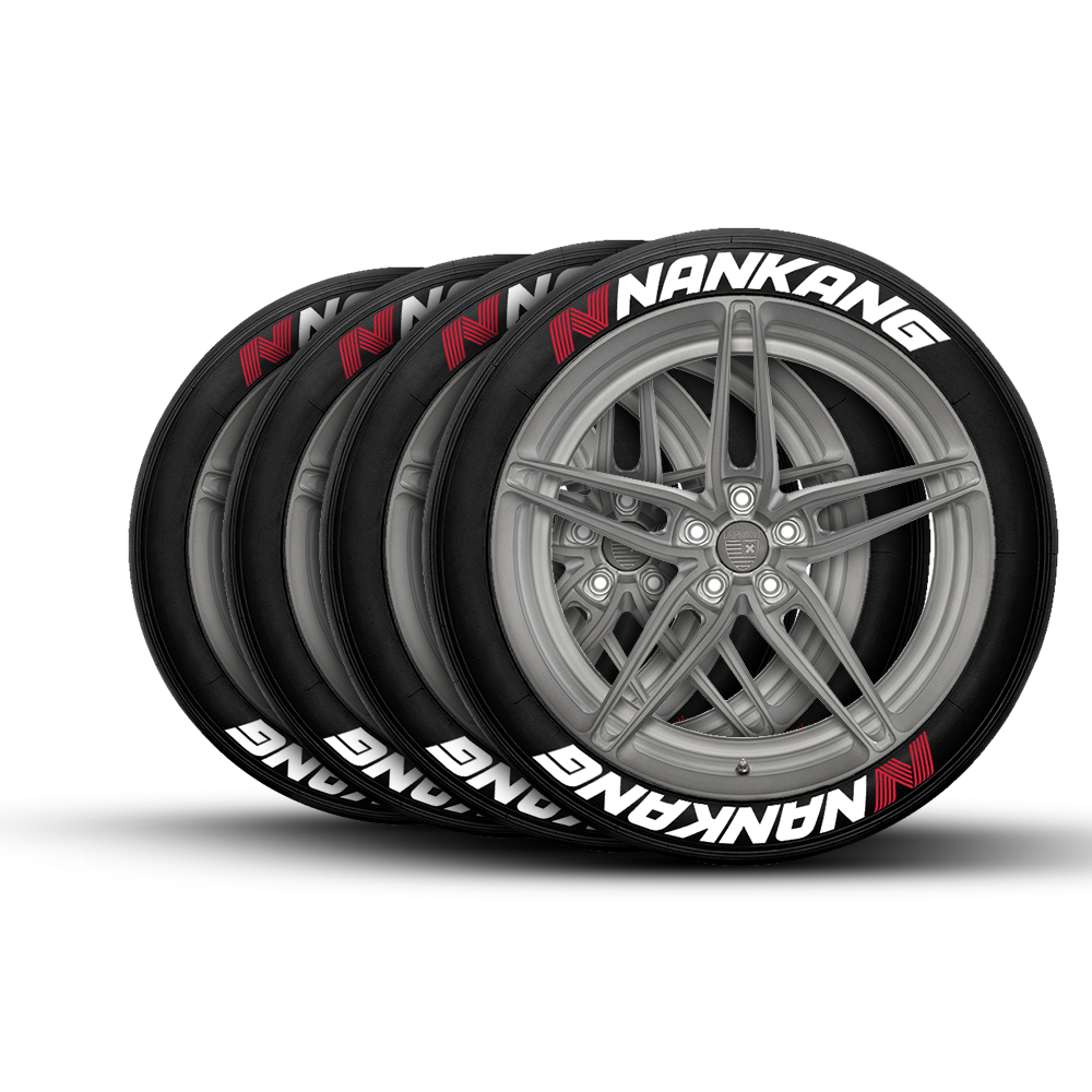NANKANG TIRE LETTERING Tire Stickers