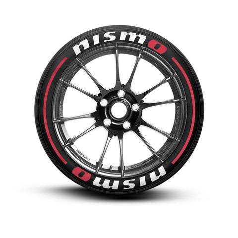 Nismo Tire Lettering and Tire Stickers