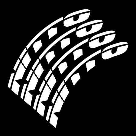Nitto tire lettering tire stickers tire decal