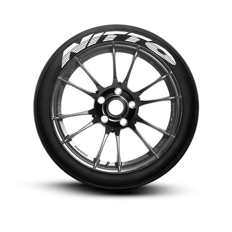 Nitto Performance Tire Lettering (Set of 8 Tire Decals)