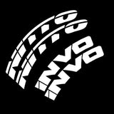 Nitto Invo Tire Lettering Tire Stickers