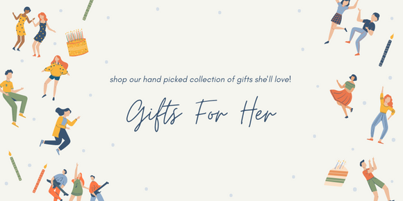 shop our hand picked collection of gifts for her. Including faux potted plants, photo frames, jewellery and more