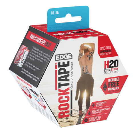 ROCKTAPE H20 EDGE BLUE