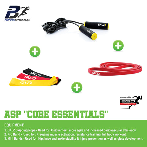 ASP CORE ESSENTIALS - PerformBetter.co.za by ASP Sports Science