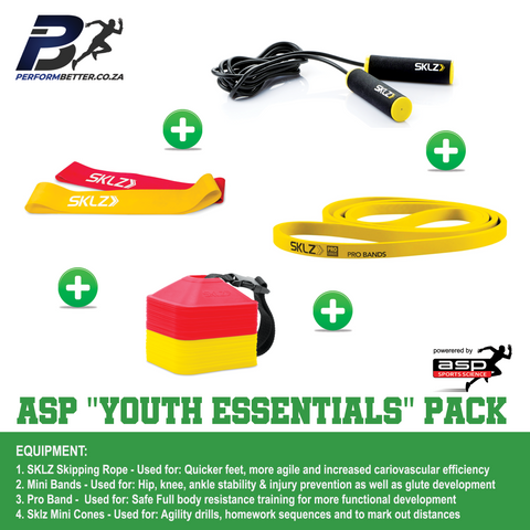 ASP YOUTH ESSENTIALS PACK - PerformBetter.co.za by ASP Sports Science