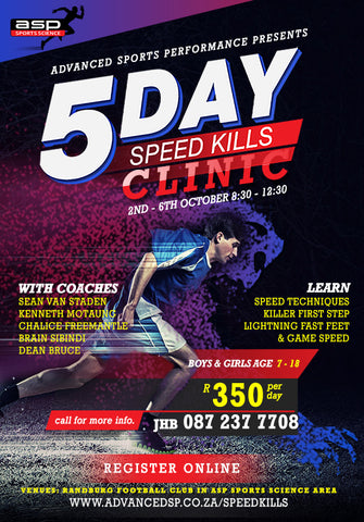 5 Day SpeedKills Clinic 2017