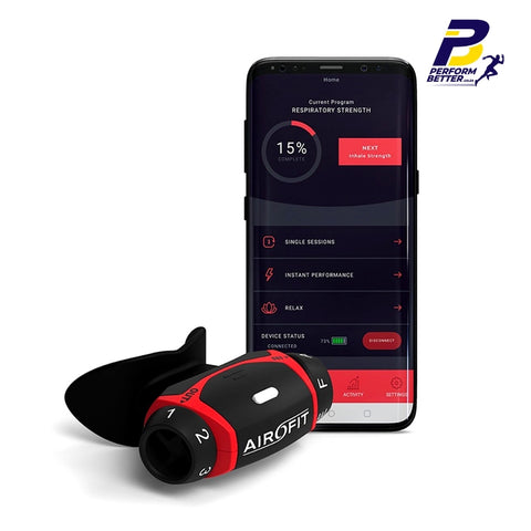 AIROFIT Breathing Trainer - PerformBetter.co.za by ASP Sports Science