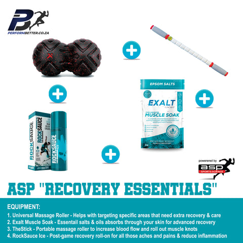 ASP RECOVERY ESSENTIALS - PerformBetter.co.za by ASP Sports Science